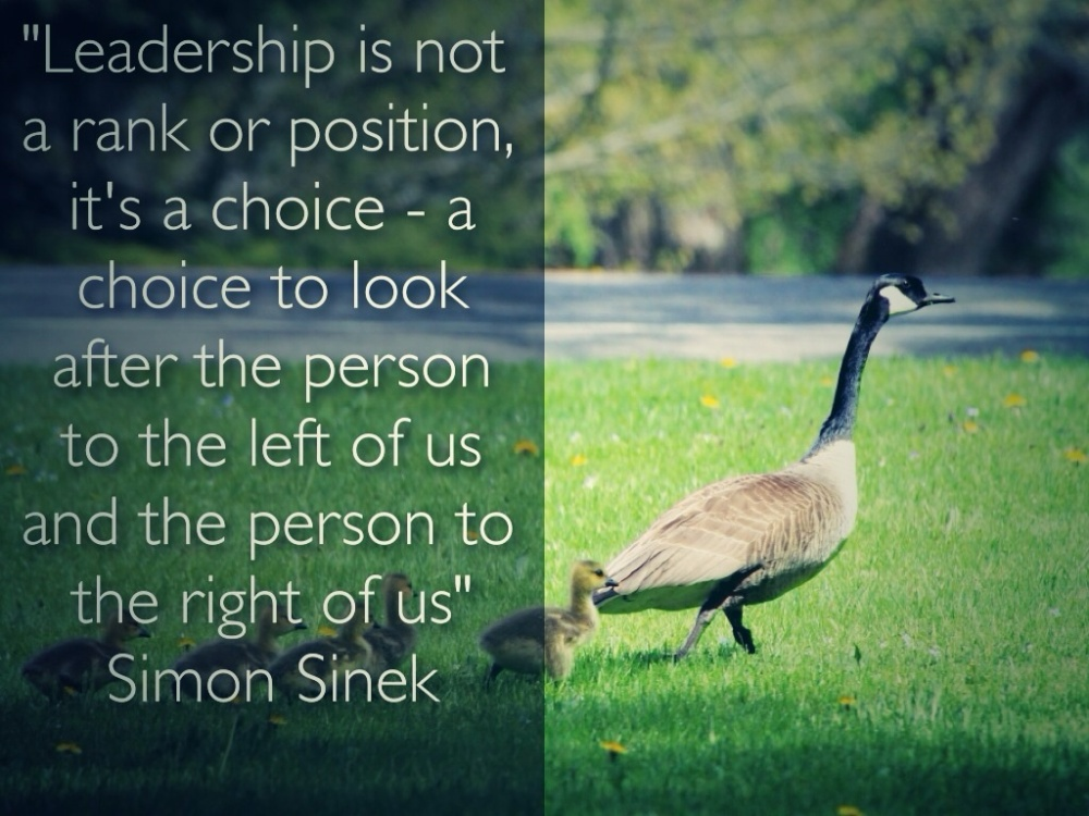 The essence of leadership?